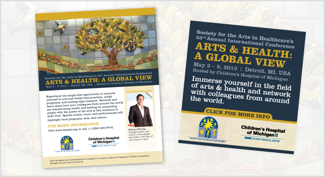 SAH 2012 Collateral – One sheet ad and online ad