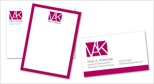 Kirkbride branding - stationery
