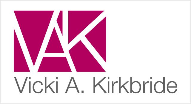 Vicki A. Kirkbride branding
